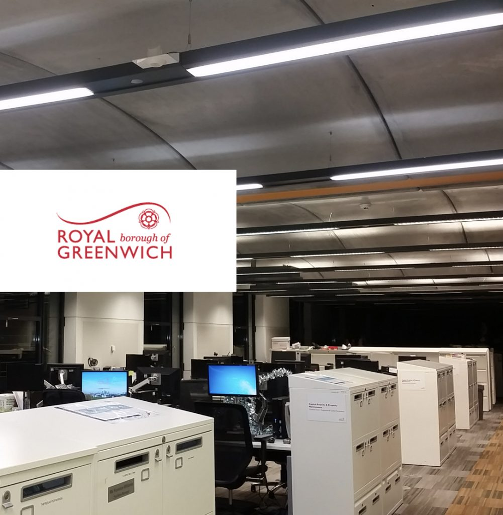public sector lighting - The Woolwich Centre LED lighting project