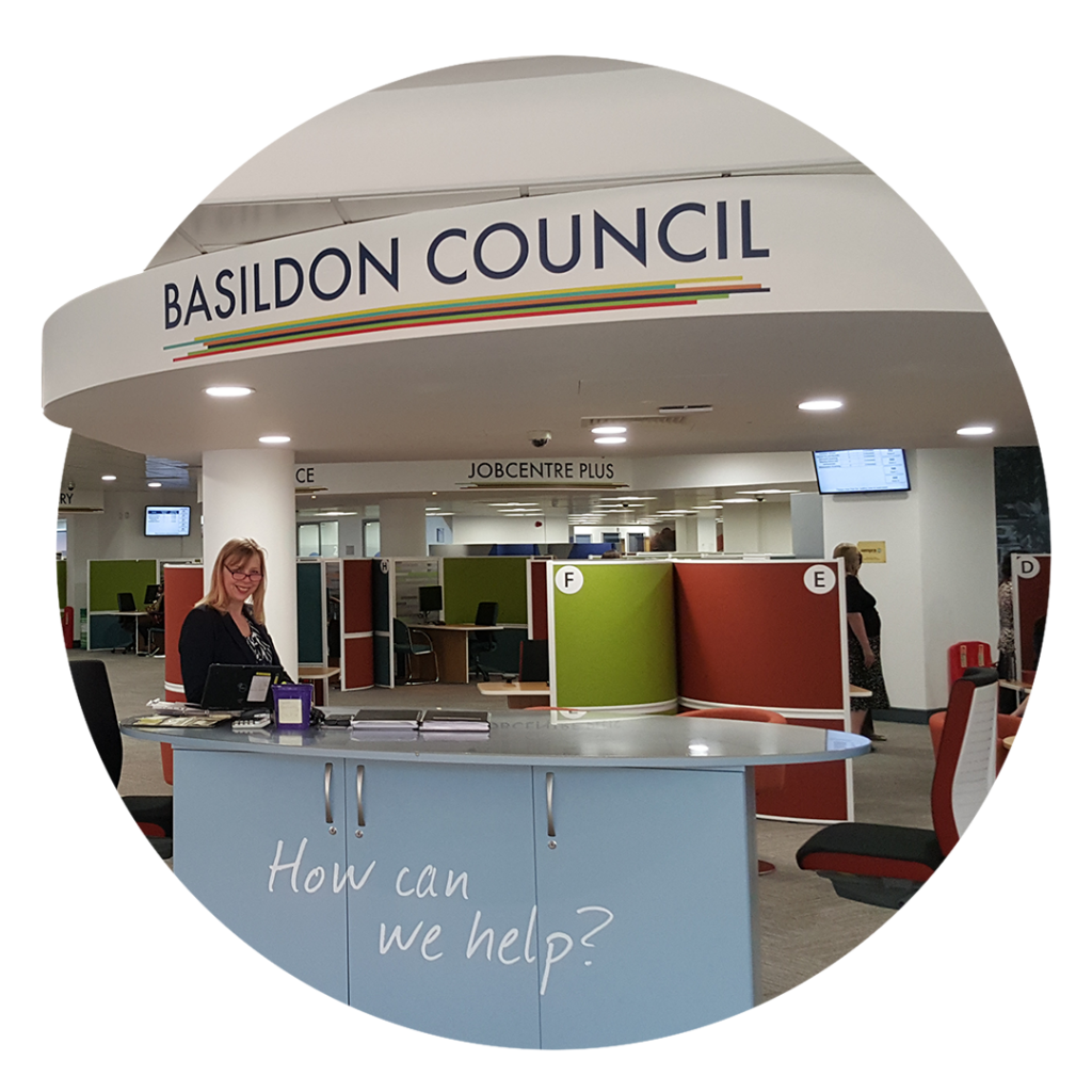public sector lighting - Basildon Council LED lighting project