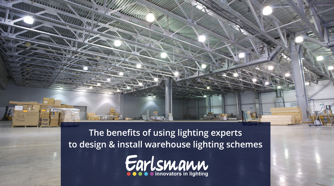 The benefits of using lighting experts to design and install warehouse lighting schemes