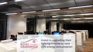 Royal Greenwich Council invest in upgrading their lighting scheme to save 60% energy consumption